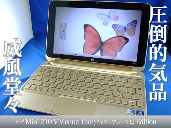 hp Mini210 Vivienne Tam Edition